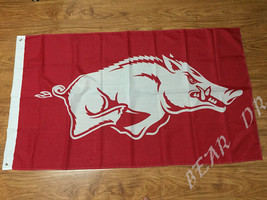 Arkansas Razorbacks College Flag 3x5 Ft Banner Indoor Outdoor - £10.43 GBP