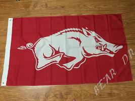 Arkansas Razorbacks College Flag 3x5 Ft Banner Indoor Outdoor - £10.89 GBP