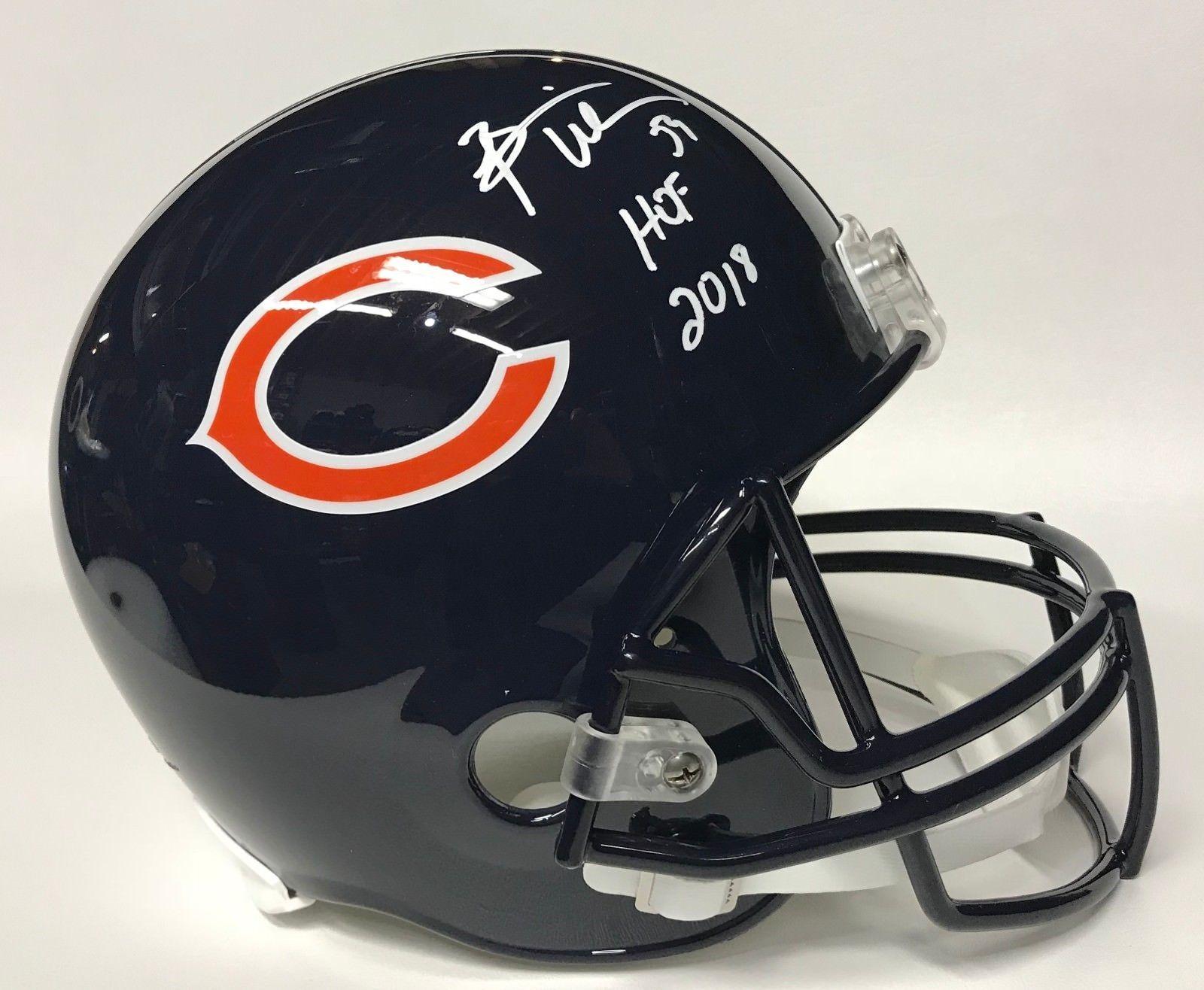 63b3bd5e7c8 Brian Urlacher Autographed Bears F/S Helmet and 49 similar items. 57