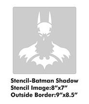 XL Stencil - Batman Shadow - $19.27