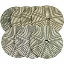 "Stadea PPD117N 6"" Dry Diamond Polishing Pads for Concrete Travertine Marble Terr"