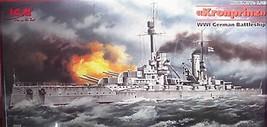ICM 1/350 WW1 German Battleship  KRONPRINZ  Kit S.003 image 1