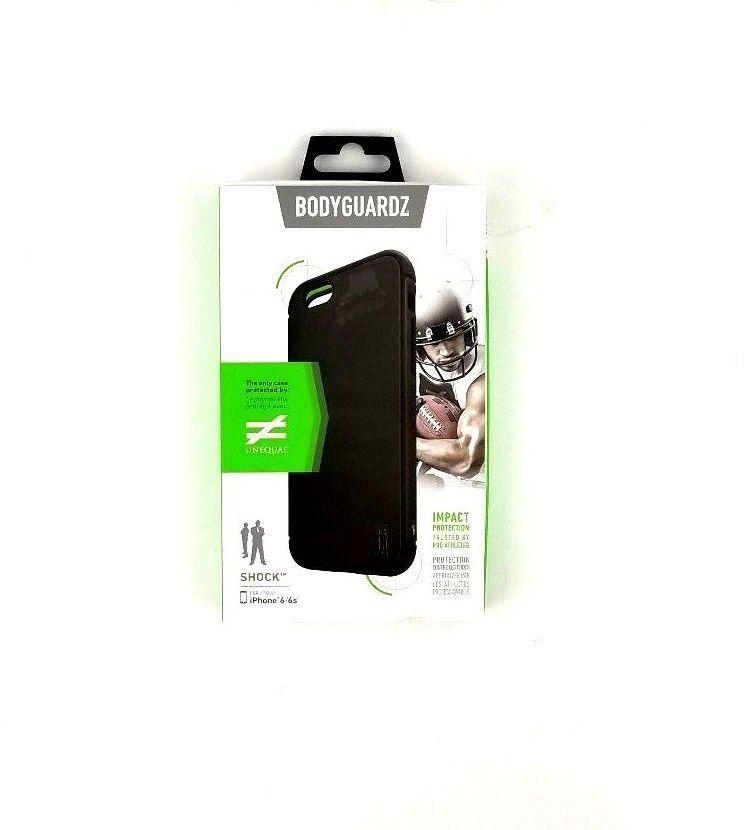 BodyGuardz Black Unequal SHOCK Protective Apple iPhone 6/6s Case