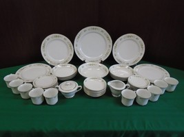 M Fine China of Japan 3904 NATALIE 55pc Dinnerw... - $193.49