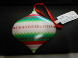 "Hallmark ""Granddaughter"" Ornament NEW with Tag - $14.80"