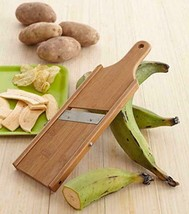 "2 Packs IMUSA USA J100-HW-01W Wood Plantain Slicer ""Mariquitera"" - £19.19 GBP"