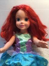 "Disney Talking Princess Arial from My little Mermaid. 19"" tall - $15.83"