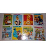 SESAME STREET CHARACTERS & NURSERY RHYMES GOLDEN Tray Puzzles 1980s Lot ... - $29.65