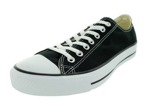 Converse Unisex Chuck Taylor All Star Low Top Black Sneakers - 6 B(M) US Women /