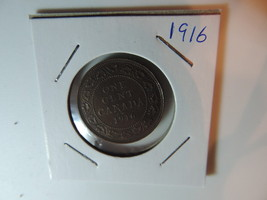 1916 Canadian Penny coin A269 - $8.15