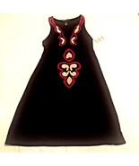 International Concepts INC Romantique Embroidered Small Shift Dress Blac... - $37.99