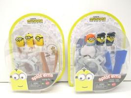 Minions The Rise Of Gru Splat Ems (1) Kung Fu & (1) Travel Kids Toy Figu... - $27.71