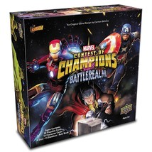 Marvel Contest of Champions Battlerealm Board Game Upper Deck Company UP... - $44.50