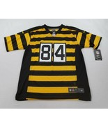 new NIKE youth jersey NFL STEELERS 84 Brown Antonio yellow black sz L 14-16 - $38.82