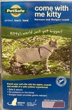 PetSafe Come With Me Kitty Purple Cat Harness and Bungee Leash Size Medium  - $13.83