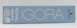 New Pkg Schwarzkopf Igora Royal High Lifts Permanent Hair Color Cream ~ 2.1 Oz - $8.19