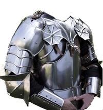 European Gothic Armor Breastplate Gorget & Shoulder Armour Set Nauticalmart  - $399.00