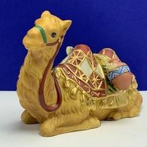 Thomas Kinkade nativity figurine hawthorne village Christmas statue seated Camel - $64.30