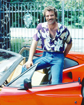 Tom Selleck Magnum PI Ferrari Vintage 24X30 Color TV Memorabilia Photo - $41.95