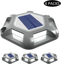4Pcs Lawn garden solar Light Outdoor Bright for Walkway, Ground, Wall & ... - $16.82+