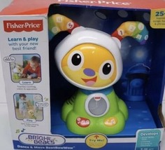 Fisher-Price Dance and Move Beat Bow Wow Interactive Learning Toy - Gree... - $39.59