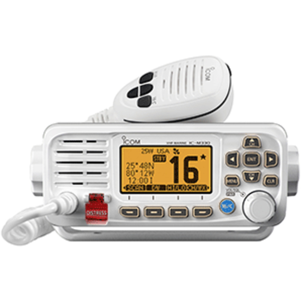 Primary image for Icom M330 Compact VHF Radio w/GPS - White