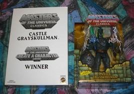 Castle Grayskullman MOTUC Masters of the Universe Classics MOSC MOC Skel... - $130.00