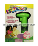 DUDLEY'S* Decorating Kit SPRAYTASTIC Non-Toxic Food Colors EASTER Stenci... - $8.10