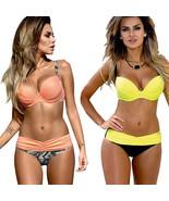 Bikini Set 2017 Summer Low Waist Swimwear Women Sexy Bench Swimsuit - $21.10+