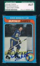 1979-80 Topps #134 Dave Schultz Sabres JSA Auto - $19.75