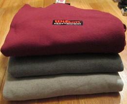 Men's Sweatshirt Wilson 3XL Heavy weight 24 PC 50/50 Cotton/Poly Navy Brick - $156.00