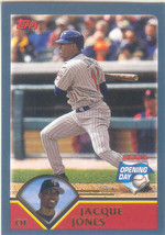 Jacque Jones ~ 2003 Topps Opening Day #101 ~ Twins - $0.20