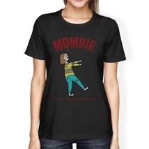 Mombie Sleep Deprived Still Alive Womens Black Shirt - $14.99+
