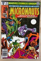 MICRONAUTS #25 (1981) Marvel Comics VG+/FINE- - $9.89