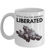 """Starcraft 2 Mugs """"Terran Mug - You Have Been Liberated - Liberator Mug"""" ... - $14.95"""