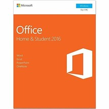 Office 2016 Home and Student Product Key Card | English Language | For PC - $96.46