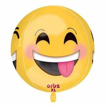 Amscan 3362301 15 x 16-inch Winking Smiley Orbz Foil Balloon - $5.76