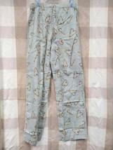 Victoria's Secret PINK Flannel Sleep Bottom Medium Gray/Rainbow Candy Cane - $15.00