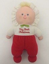"Eden ""My First Christmas"" Girl Baby Doll Plush ... - $19.78"