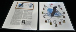 1982 The American Eagle Artist Balke Fleetwood Panel and First Day Cover - $7.56
