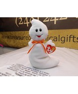 Spooky the TY Beanie Babies Ghost, PVC,no stamp Retired Korean Market - $8.95