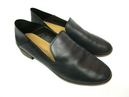 Lucky Brand Womens 6M Cahill Flats Loafers Slip On Shoes Black Leather S... - $31.50