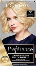 Loreal Preference Hair Dye Permanent Colour Glasgow - Very Very Light Ash Blonde - $19.94
