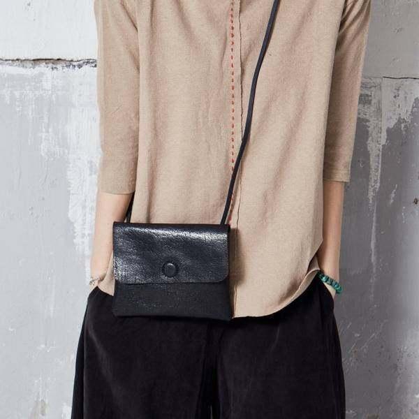 On Sale, Handmade Crossbody Bag, Full Grain Leather Shoulder Bag, Women Clutch image 5