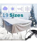 19 Sizes Furniture Dust Cover Waterproof Cover Outdoor Patio Garden Rain... - $72.88+