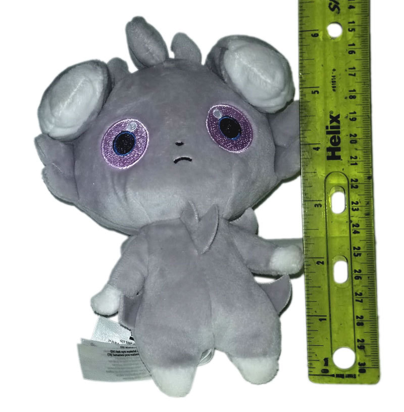 "Pokemon ""Espurr"" 7"" Pokemon Center Anime UFO Catcher / Plush * Nintendo"