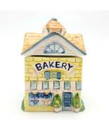 Avon Ceramic Cottage Spice Jar Bakery  - $12.12