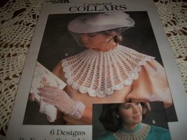 Crocheted Collars Leaflet 446 - $5.00