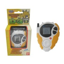 Bandai Digimon Digivice D3 Japan Version 3 Ankylomon Color D-3 Cody Hida Yellow  - $225.72