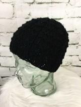 Black Beanie Hat Cap Knit - $9.89